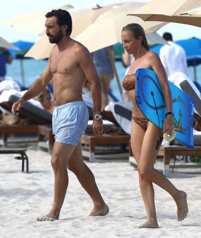 Andrea Pirlo et sa compagne Valentina Baldini
