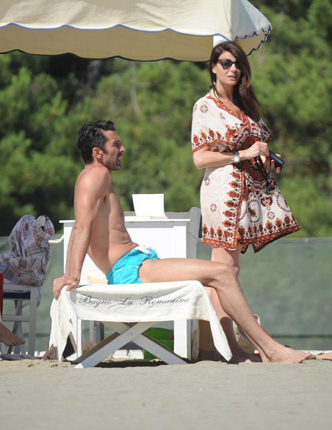 Gianluigi Buffon et sa compagne Ilaria D'Amico