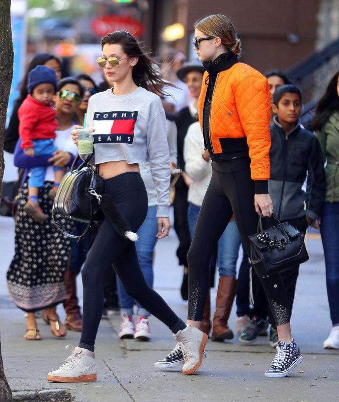 Gigi et Bella Hadid inséparables à New York
