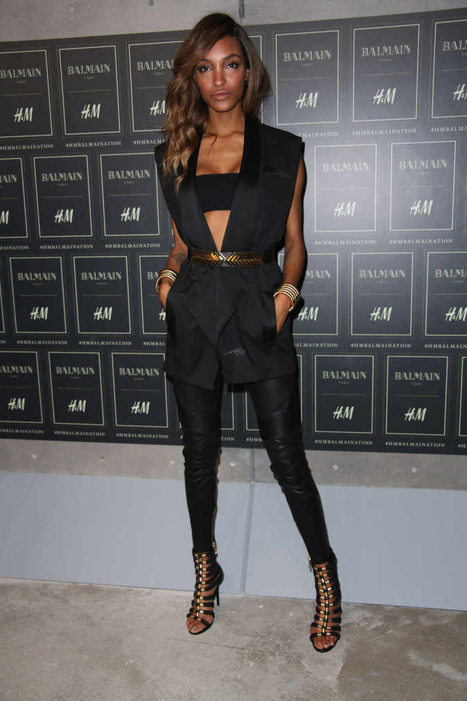Jourdan Dunn le 20 octobre 2015