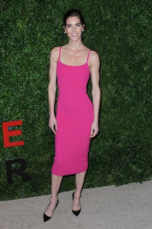 Hilary Rhoda le 16 octobre 2014 à New York