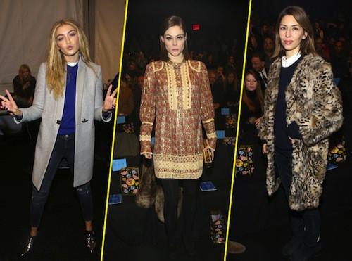 Photos : Gigi Hadid, Coco Rocha, Sofia Coppola : un front row très select chez Anna Sui !