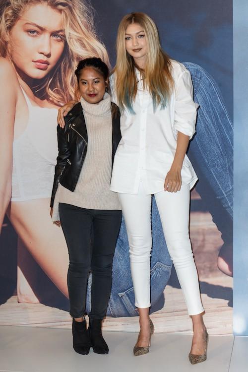 Photos : Gigi Hadid, égérie angélique pour Guess !