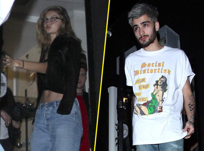 Photos : Gigi Hadid et Zayn Malik : grillés pour leur première sortie en amoureux !