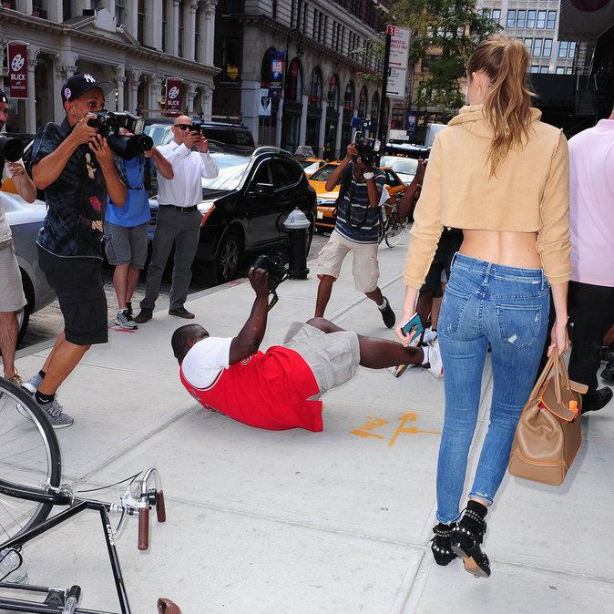 Photos : Gigi Hadid : la violente chute !