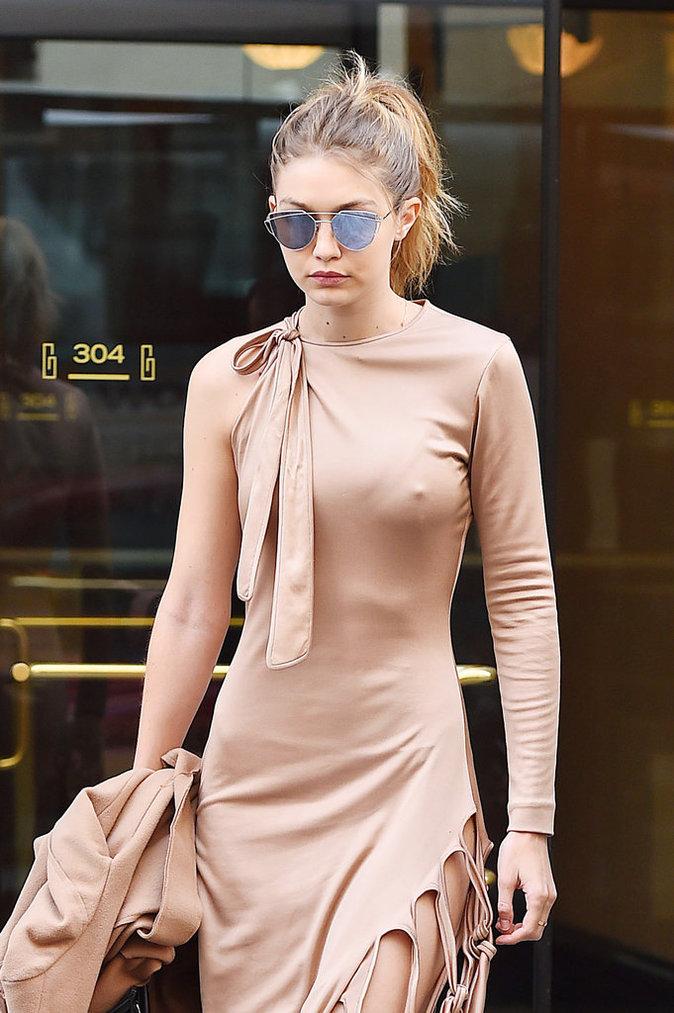 Gigi Hadid à New York le 9 mai