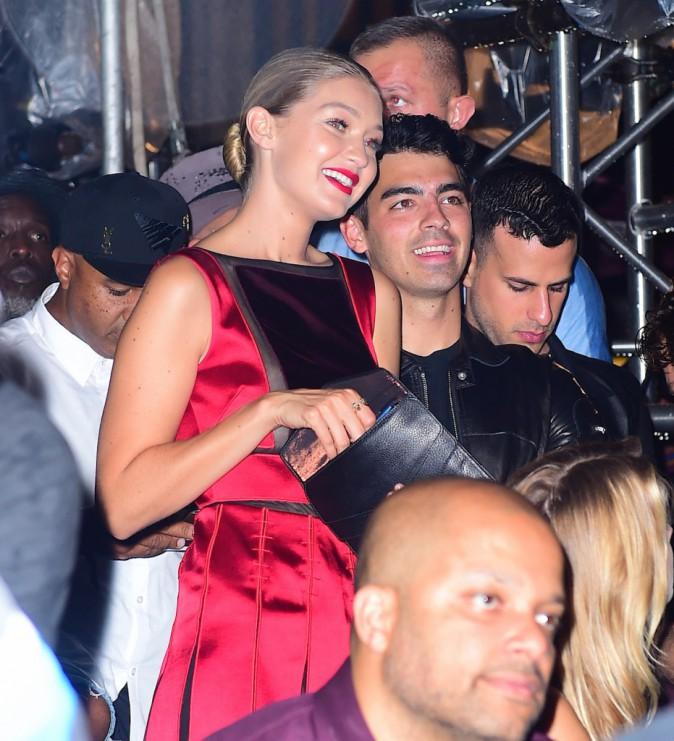Gigi Hadid et Joe Jonas le 10 septembre 2015