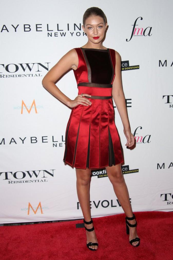 Gigi Hadid le 10 septembre 2015