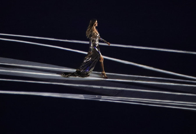 Photos : Gisele Bündchen aux JO : le catwalk le plus regardé de sa carrière !