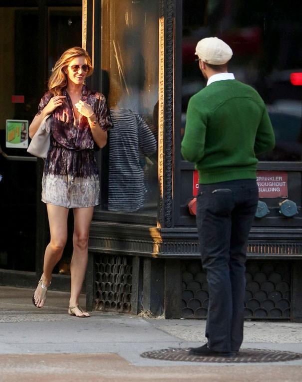 Gisele Bündchen et Tom Brady à New-York le 29 juin 2014