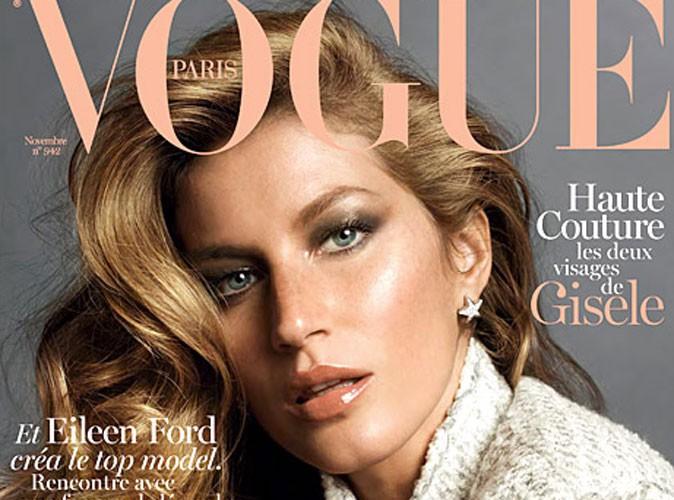 Photos : Gisele Bündchen : nue et affolante dans ses photos pour Vogue !