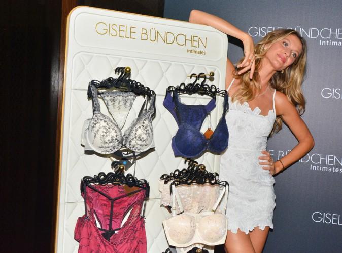 Gisele Bündchen : présentation 100% glamour de sa nouvelle collection de lingerie à Sao Paulo !