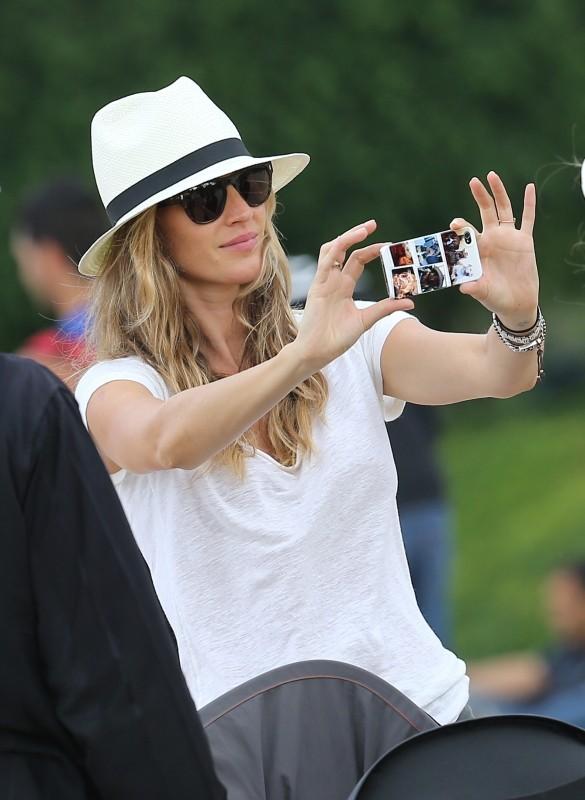 Gisele Bündchen à Paris, le 20 juin 2013.
