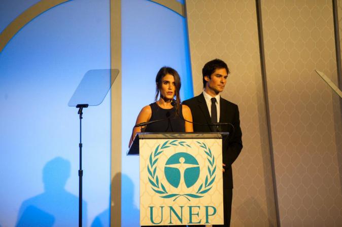 Nikki Reed et Ian Somerhalder le 27 septembre 2015