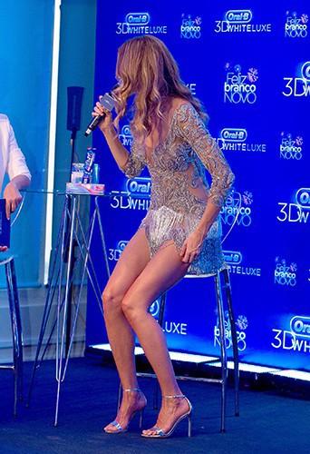 Gisele Bundchen à São Paulo le 10 décembre 2013