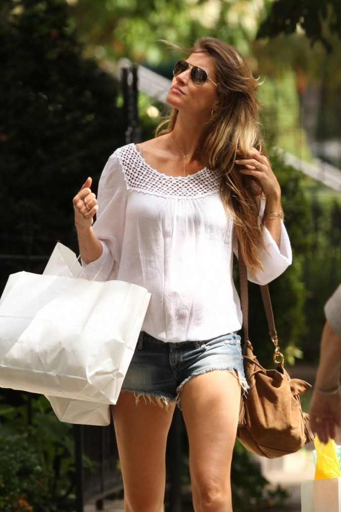 Gisele Bundchen, Boston, 6 septembre 2012.