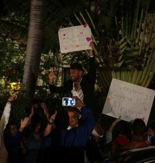 Photos : Giuseppe : bien accompagné, il peaufine l'ouverture de son restaurant à Miami !