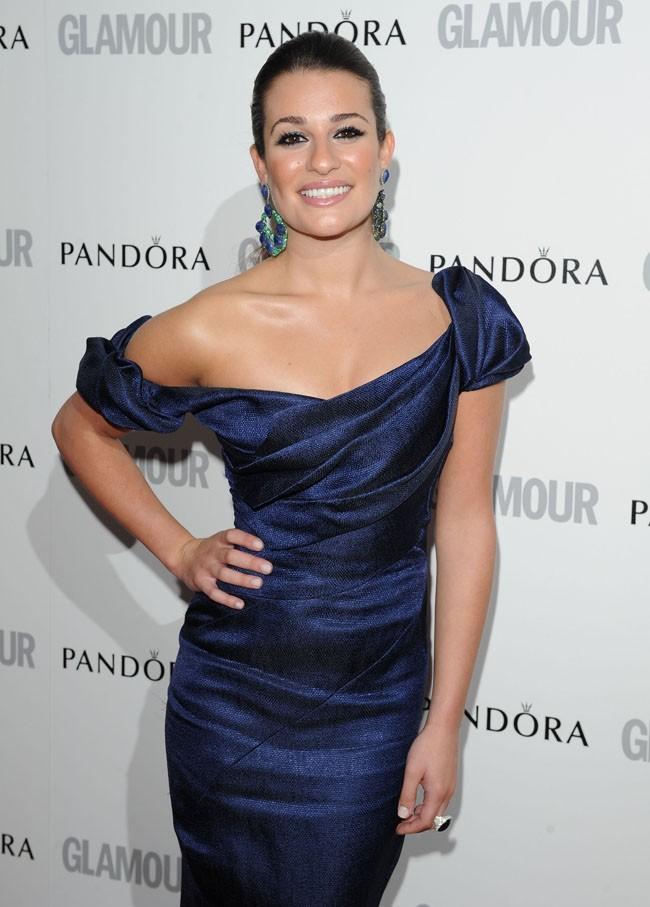 Lea Michele aime jouer les big stars sur le tapis rouge