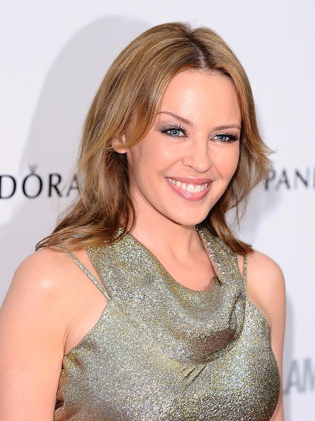 Kylie Minogue, rayonnante