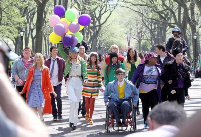 Toute la bande réunie dans Central Park