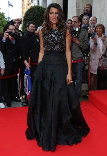 Karine Ferri à Paris le 12 mai 2014