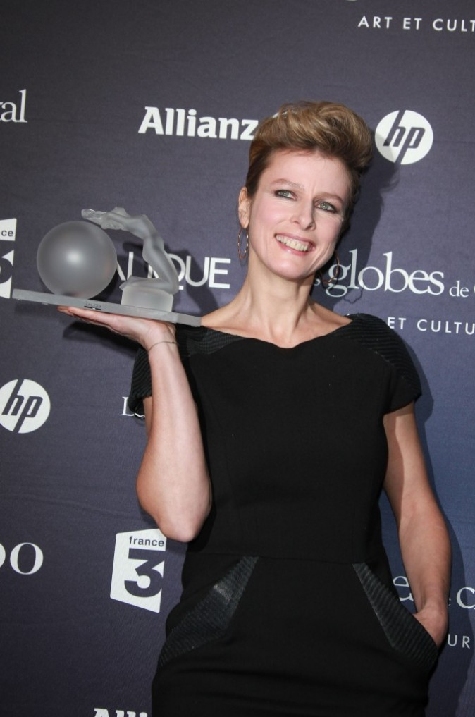 Karin Viard et son prix d'interprétation pour Polisse !