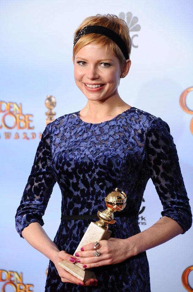 Michelle Williams remporte son premier Golden Globe !