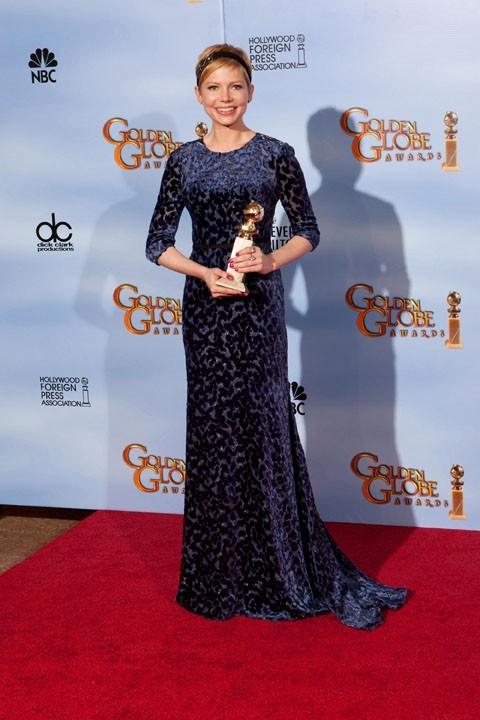 Michelle Williams, son interprétation de Marilyn Monroe a remporté tous les suffrages !