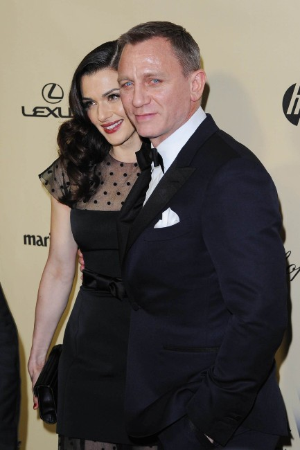Daniel Craig et Rachel Weisz le 13 janvier 2013 à Los Angeles