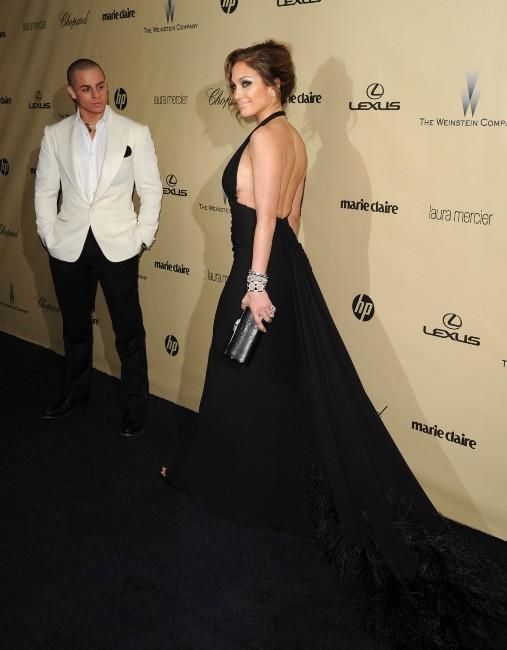 Jennifer Lopez et Casper Smart le 13 janvier 2013 à Los Angeles