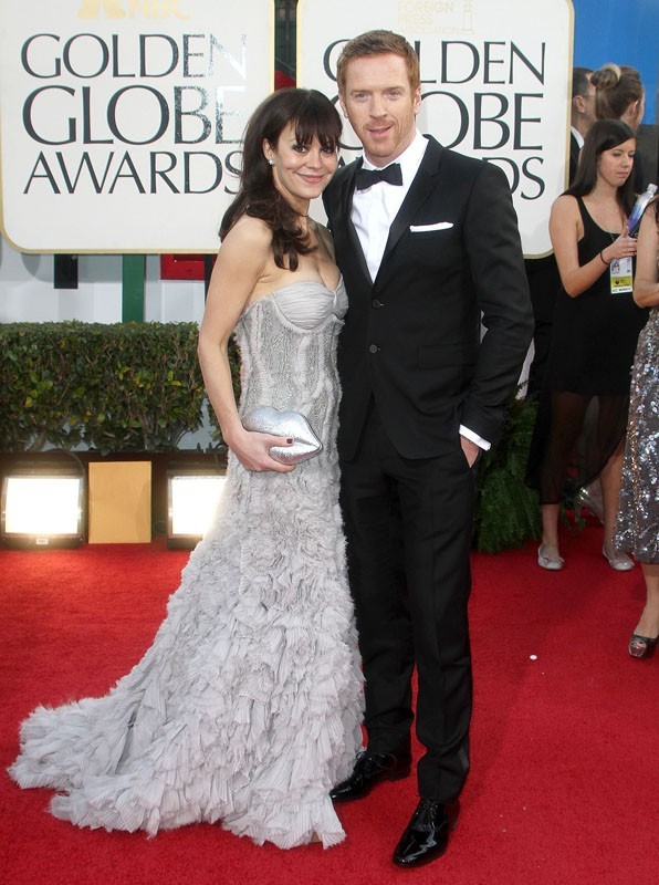 Damian Lewis et sa copine