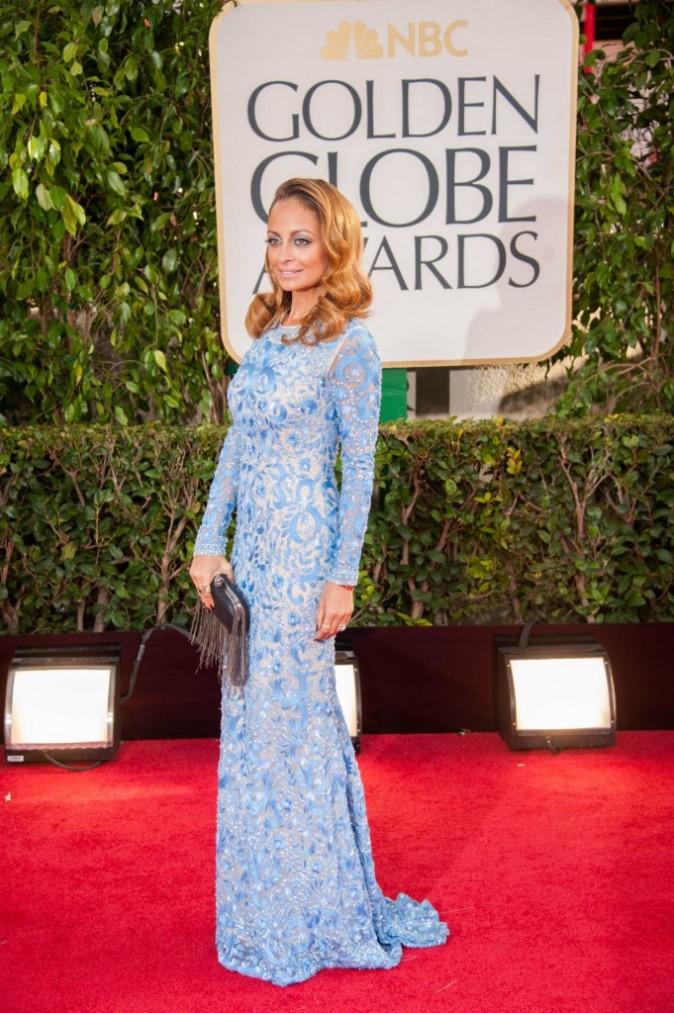 Nicole Richie lors de la 70e cérémonie des Golden Globes à Los Angeles, le 13 janvier 2013.