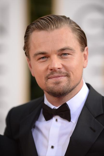 Leonardo DiCaprio lors de la cérémonie des Golden Globes à Beverly Hills, le 12 janvier 2014.