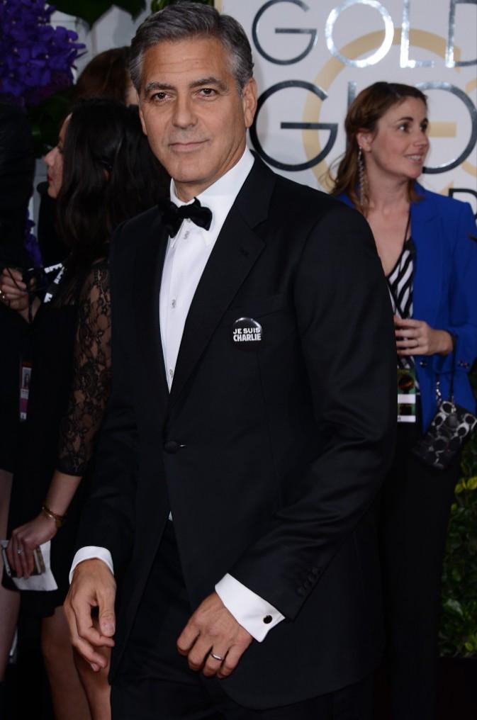 George Clooney le 11 janvier 2015