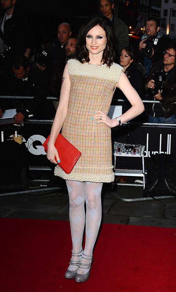 Sophie Ellis Baxtor, déjà en mode automne elle aussi !