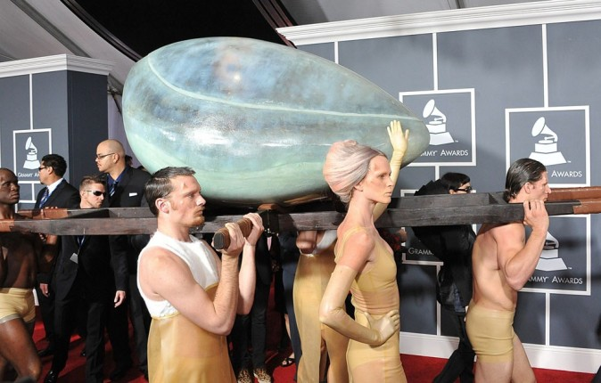 L'oeuf Lady Gaga