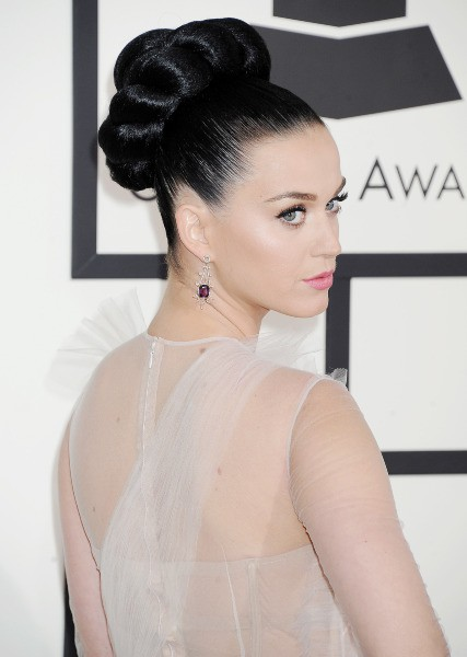 Katy Perry lors des Grammy Awards à Los Angeles, le 26 janvier 2014.