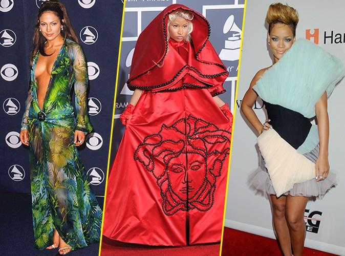 Grammy Awards : Jennifer Lopez, Nicki Minaj, Rihanna... Retour sur les pires looks de stars !
