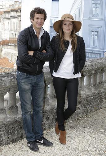 Guillaume Canet et Ana Girardot à Angoulême le 24 août 2014
