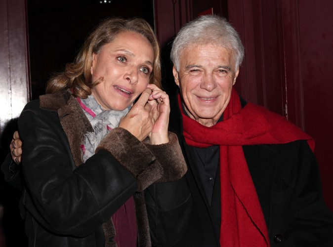 Joëlle Bercot et Guy Bedos à Paris le 23 décembre 2013