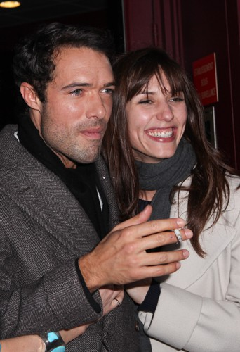 Nicolas Bedos et Doria Tillier à Paris le 23 décembre 2013