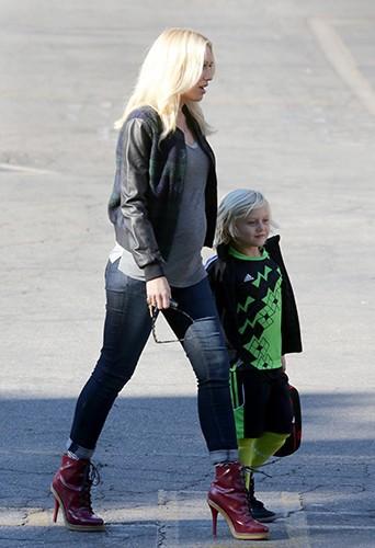Gwen Stefani à Los Angeles le 5 novembre 2013