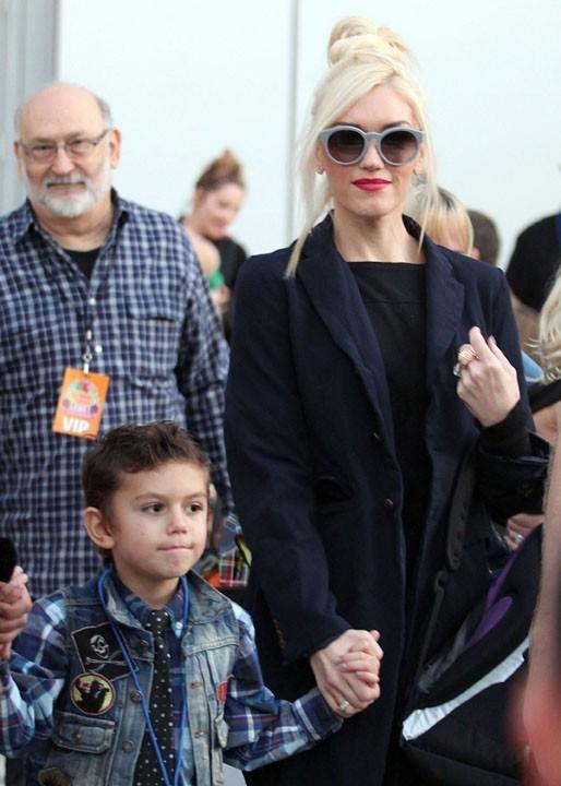 Les looks de Gwen sont toujous soignés !