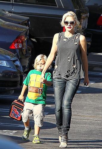 Gwen Stefani à Beverly Hills le 13 septembre 2013