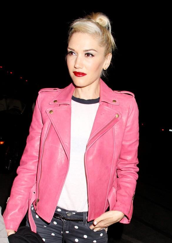 Gwen Stefani au concert de Coldplay le 4 mai 2012