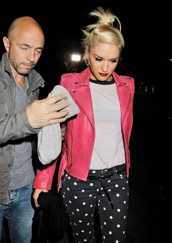 Gwen Stefani au concert de Colplay le 4 mai 2012