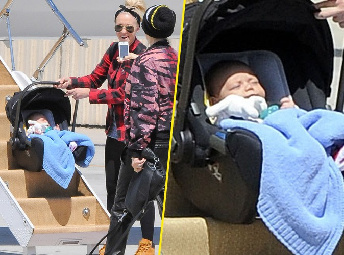 Gwen Stefani : elle immortalise le premier vol en jet privé de son baby boy Apollo !