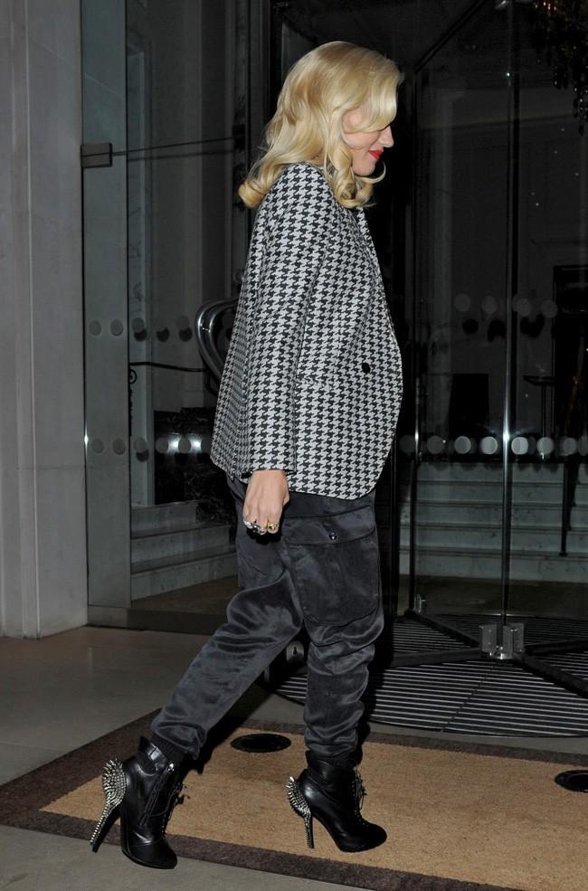 Gwen Stefani le 27 septembre 2012 à Londres
