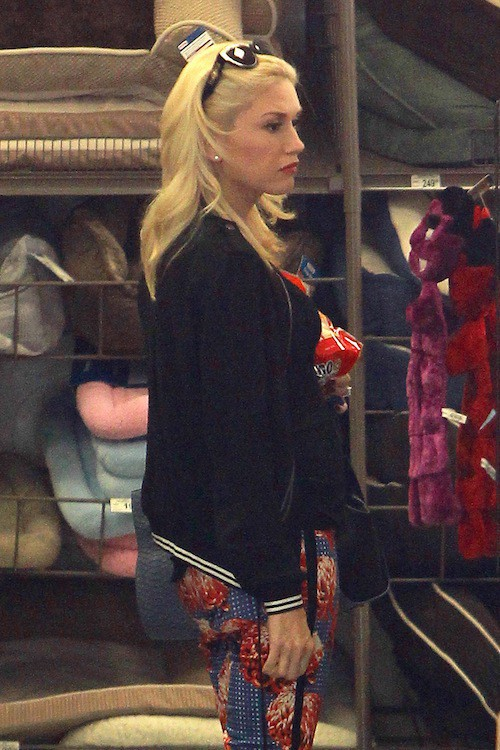 Photos : Gwen Stefani : enfin un baby bump à l'horizon !