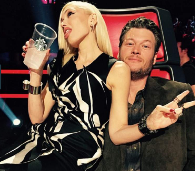 Photos : Gwen Stefani et Blake Shelton : ils filent le parfait amour !